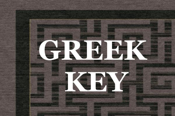 Greek Key Service Block