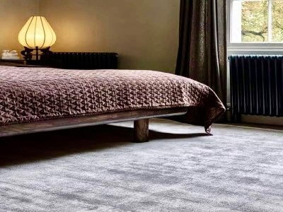 Wool Classics London - Quantum Carpet in bedroom