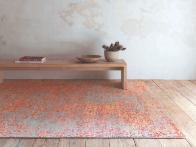 Wool Classics London Rugs: Envisage - Coral