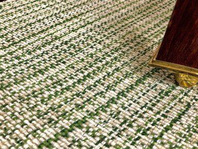 Wool Classics London Carpets: Gingham - Lettuce